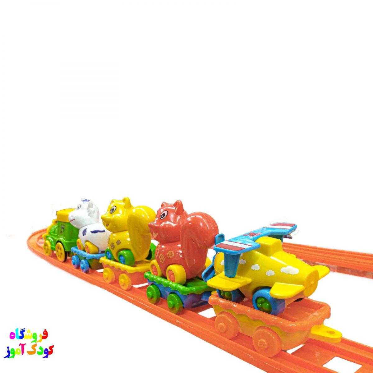 قطار نشکن ریلی بزرگ کد 1107