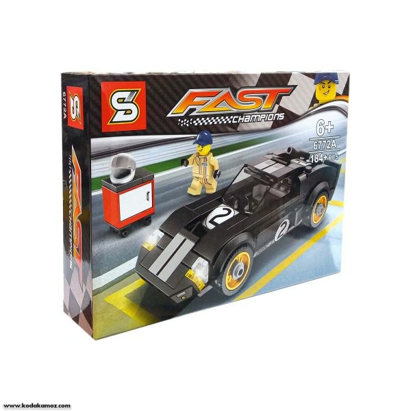 لگو ماشین مسابقه مدل 6772A