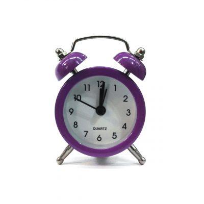 ساعت شماطه دار پایه استیل کوچک - %d8%a8%d9%86%d9%81%d8%b4
