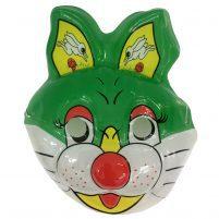 ماسک عروسکی خرگوش سبز