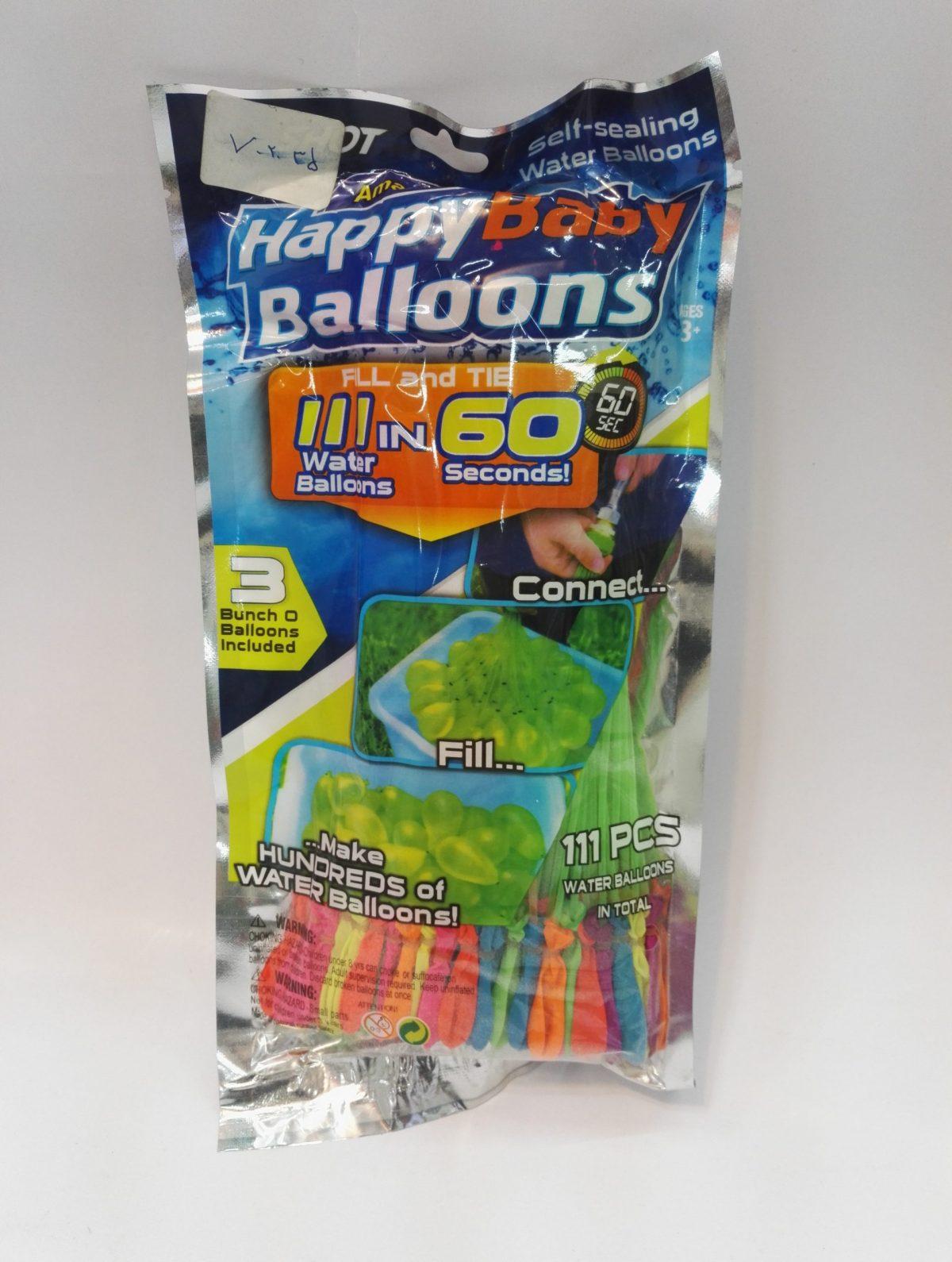 بادکنک آبی happy baby balloons