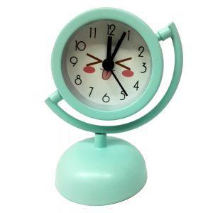 ساعت پایه دار فلزی آبی