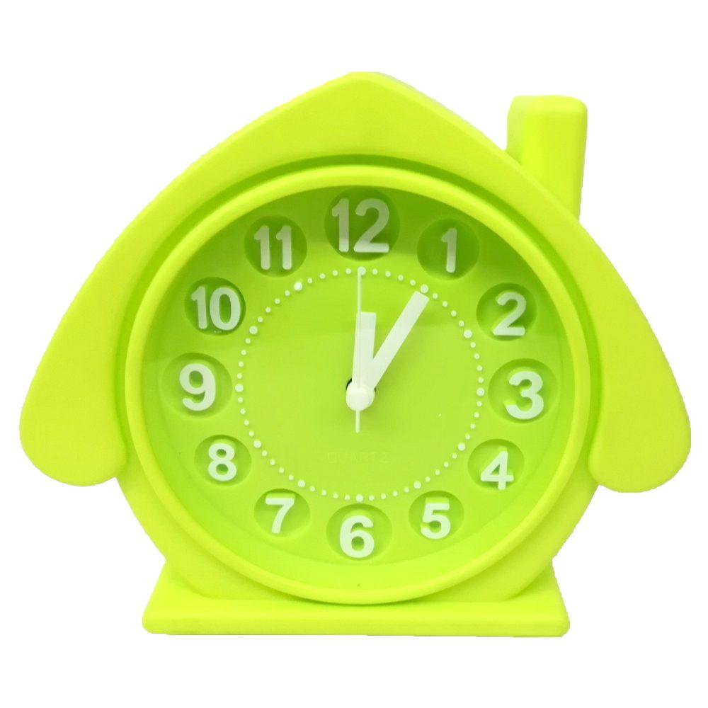 ساعت رومیزی طرح کلبه سبز