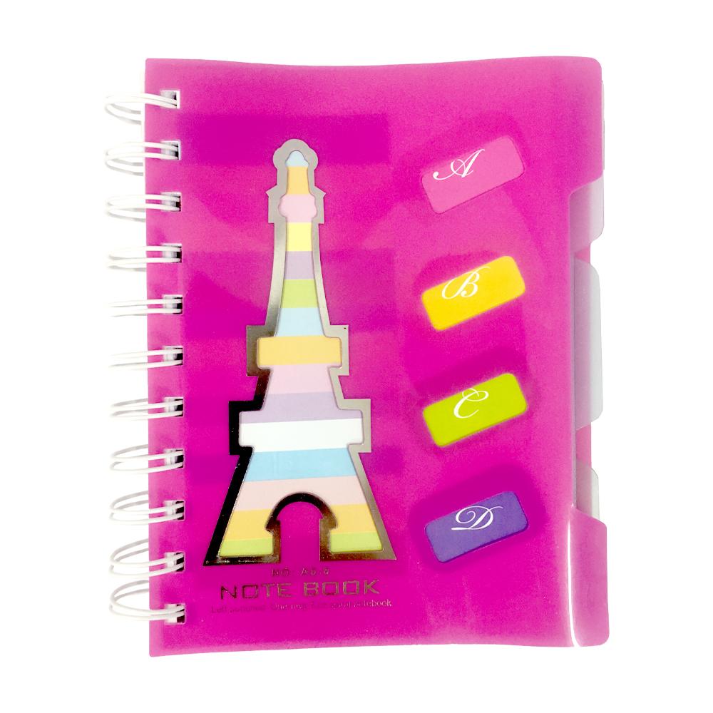 دفترچه یادداشت a6 ایفل 6803