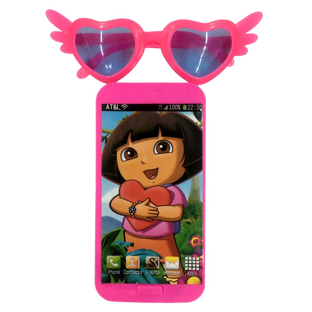 موبایل با عینک دورا