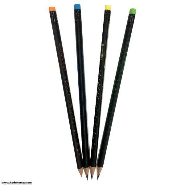 مداد مشکی وک پاکن دار
