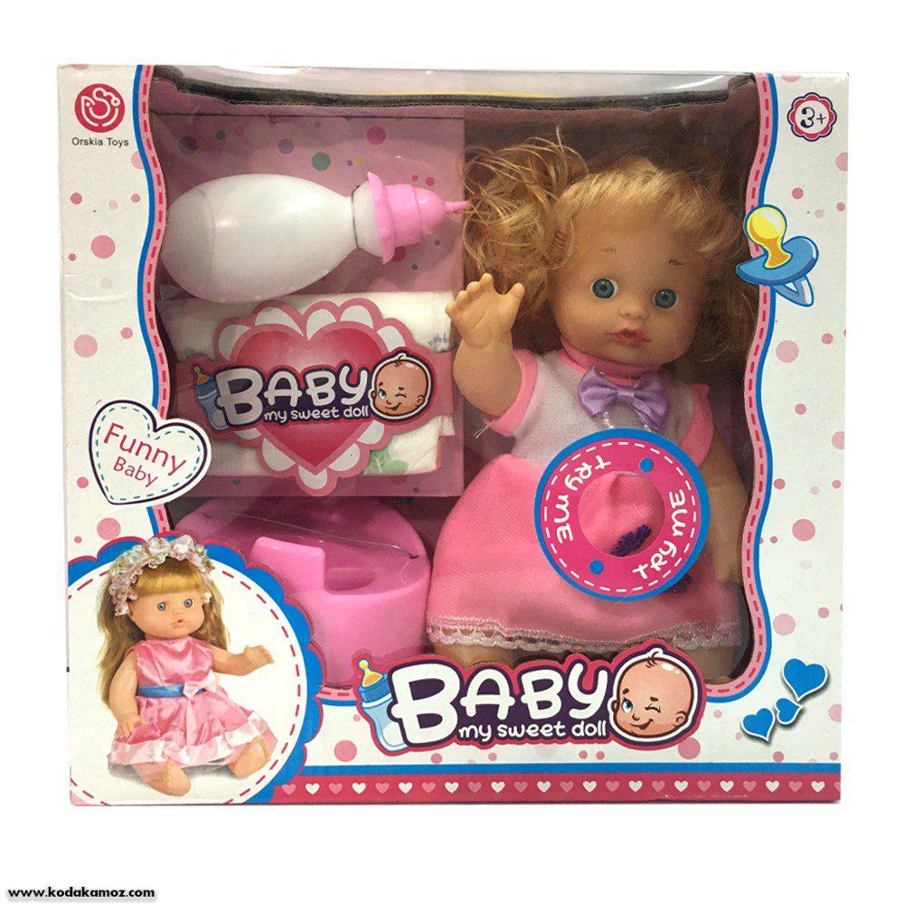 عروسک baby my sweet doll