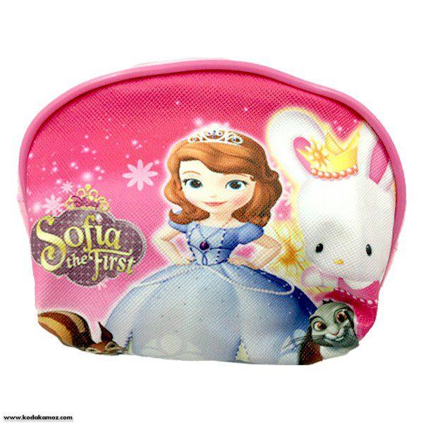 کیف پول دخترانه فانتزی عروسکی