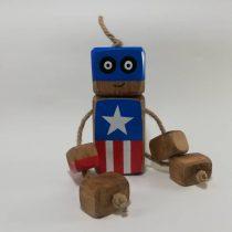 عروسک روددی کاپیتان آمریکا