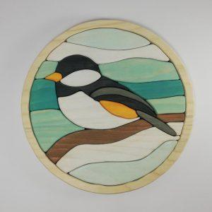 پازل چوبی سه بعدی طرح پرنده