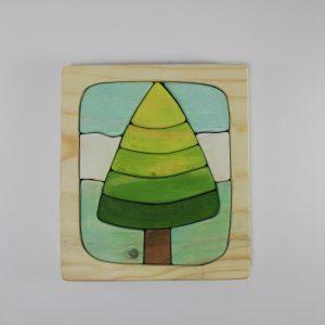 پازل چوبی سه بعدی طرح درخت