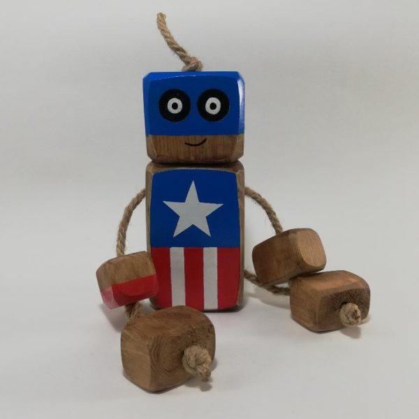 عروسک روودی کاپیتان آمریکا