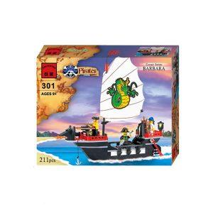 لگو کشتی دزدان دریایی کد 301